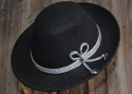 Trachtenhut Schwarz mit Kordel