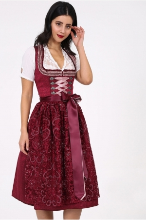 Dirndl-19887-Flamenda-KruegerCollection-dunkelrot(1)