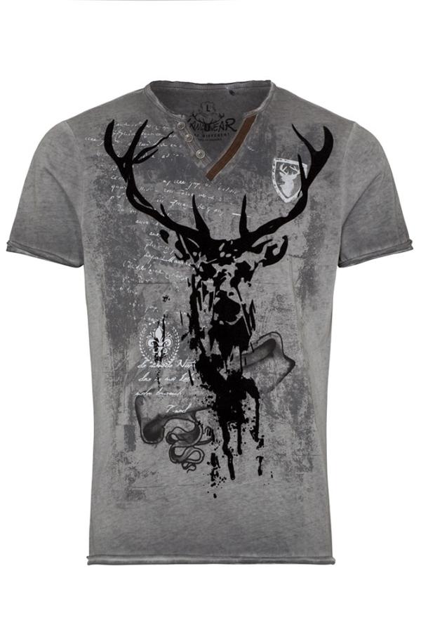 Hangowear T-Shirt Elvis, grau
