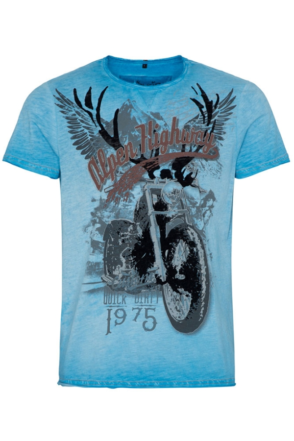 Hangowear T-Shirt Elvis, blau