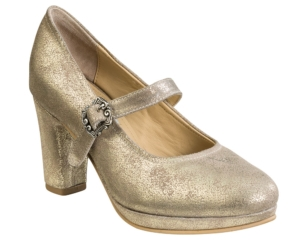 Damenpumps Susi Goldmetallic