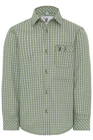 Jungenhemd Nacherl grün