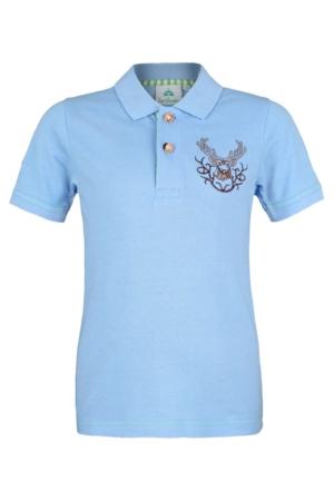 Poloshirt_52990 isartracht blau